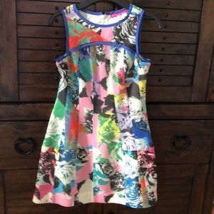 Girls multi-colored dress